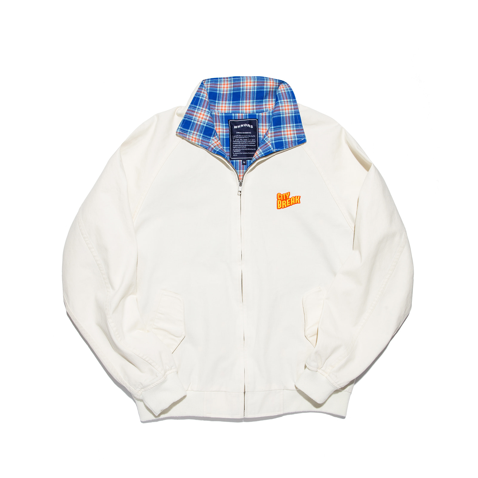 CITY BREAK BLOUSON (IVORY)
