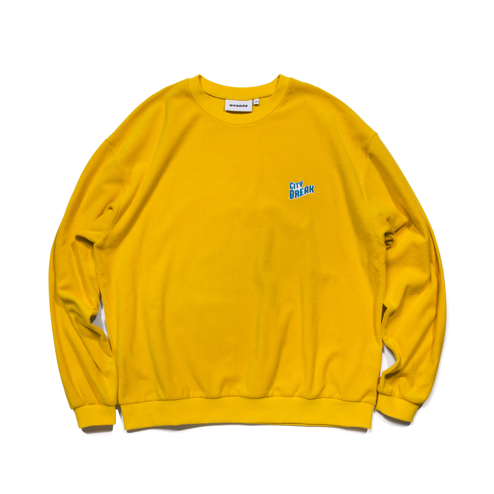 CITY BREAK CREWNECK (YELLOW)