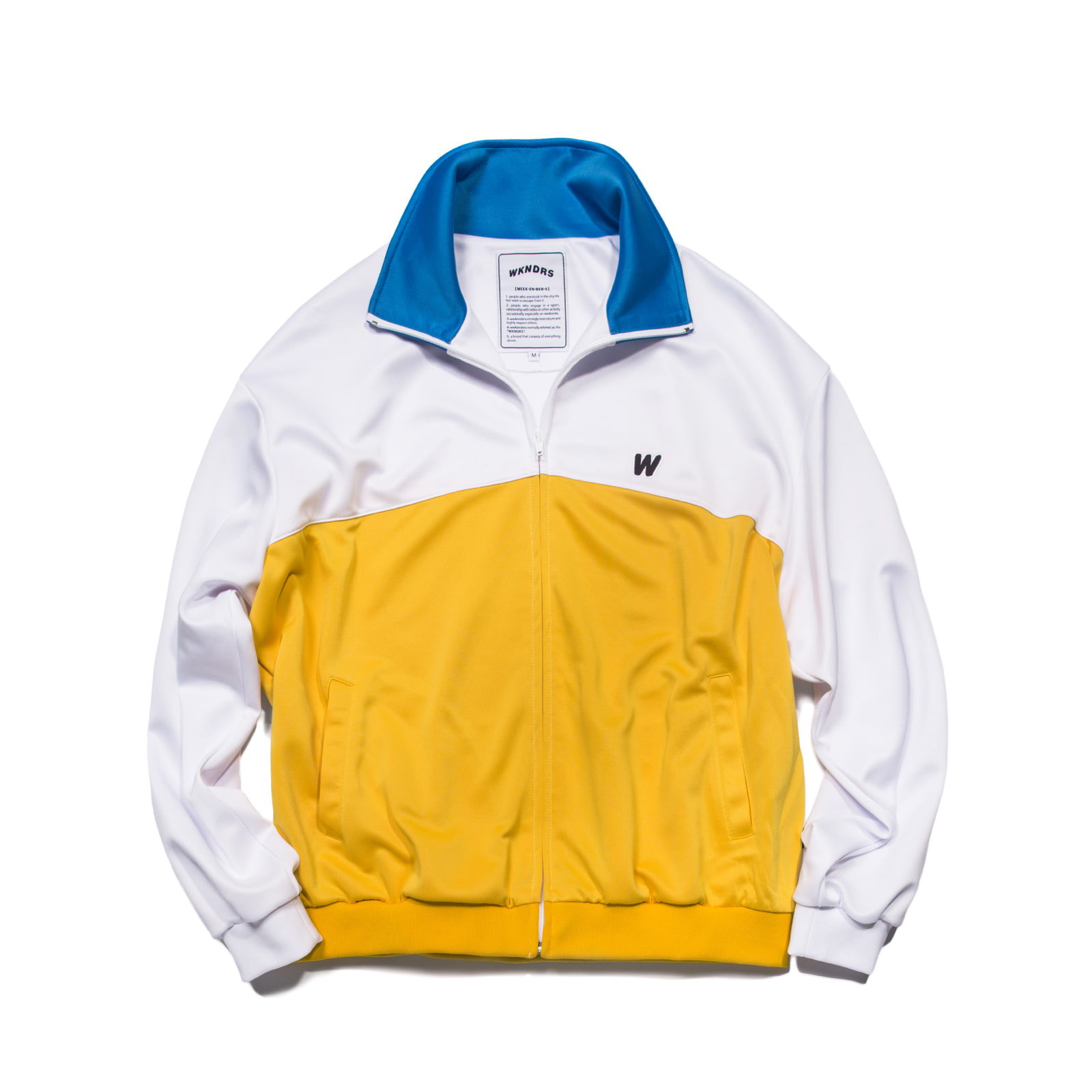 WKNDRS TRACK JACKET (YELLOW)