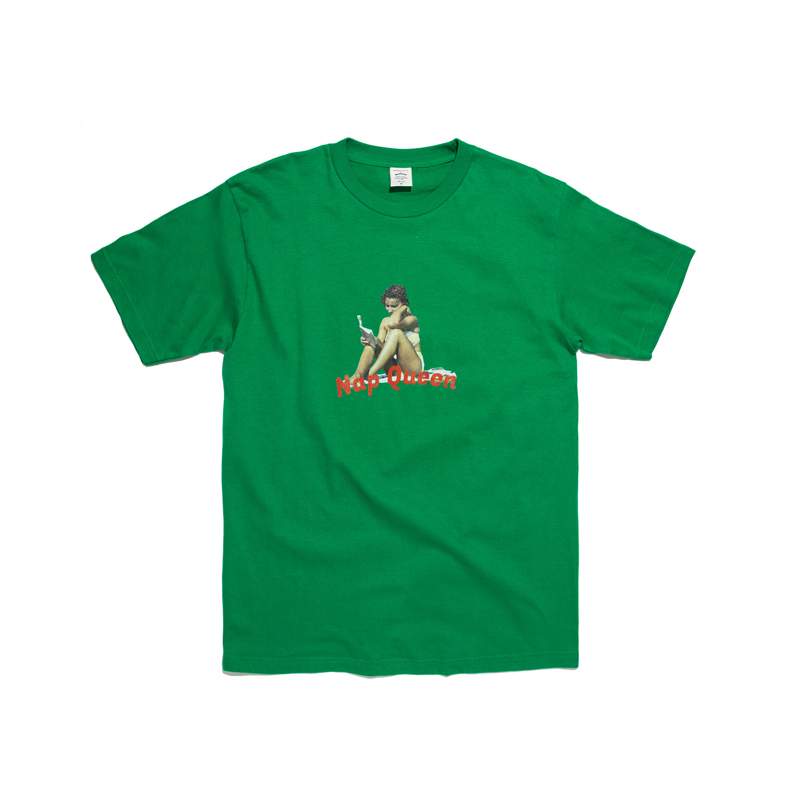 NAP QUEEN TEE (GREEN)
