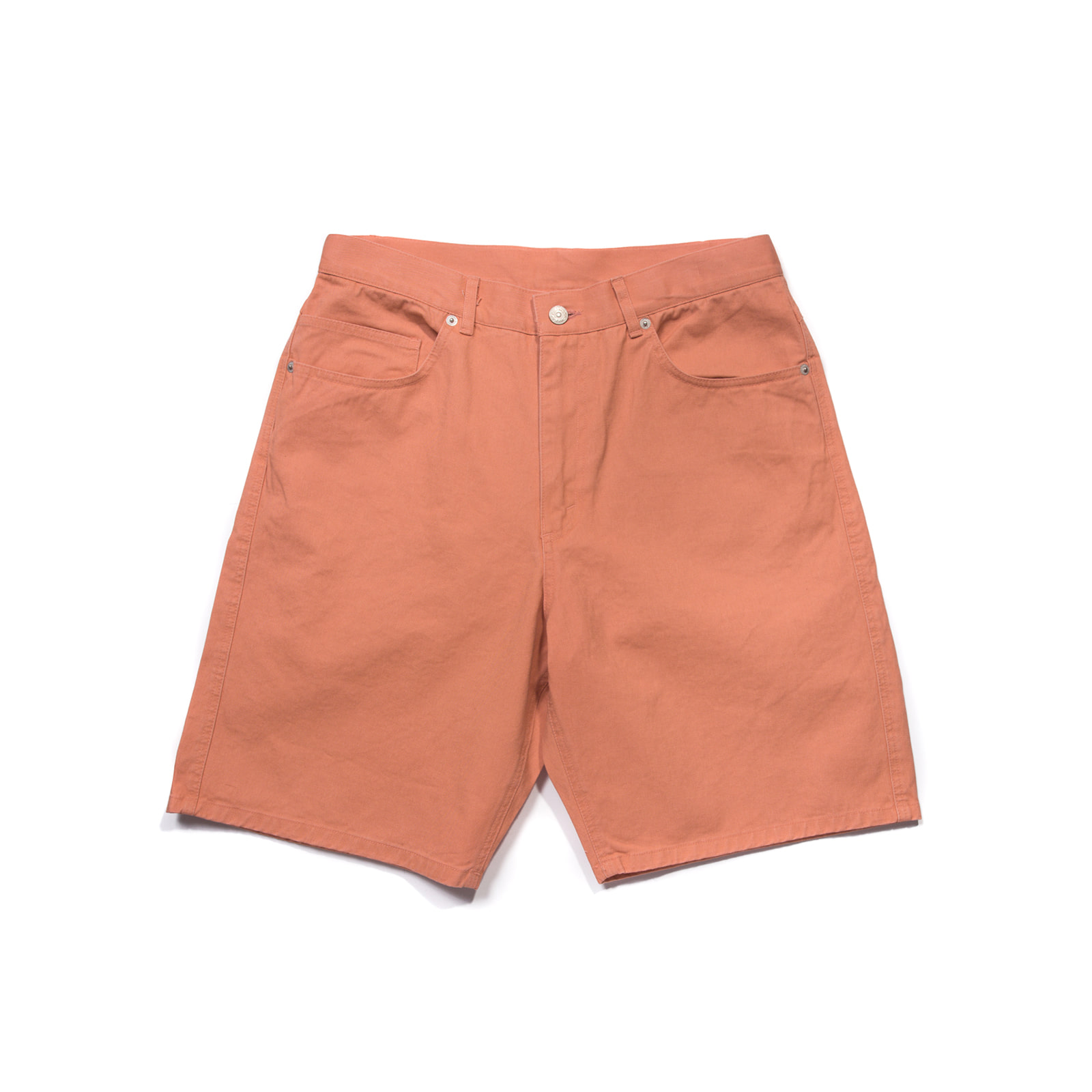 OVERSIZED CHINO SHORTS (CORAL)