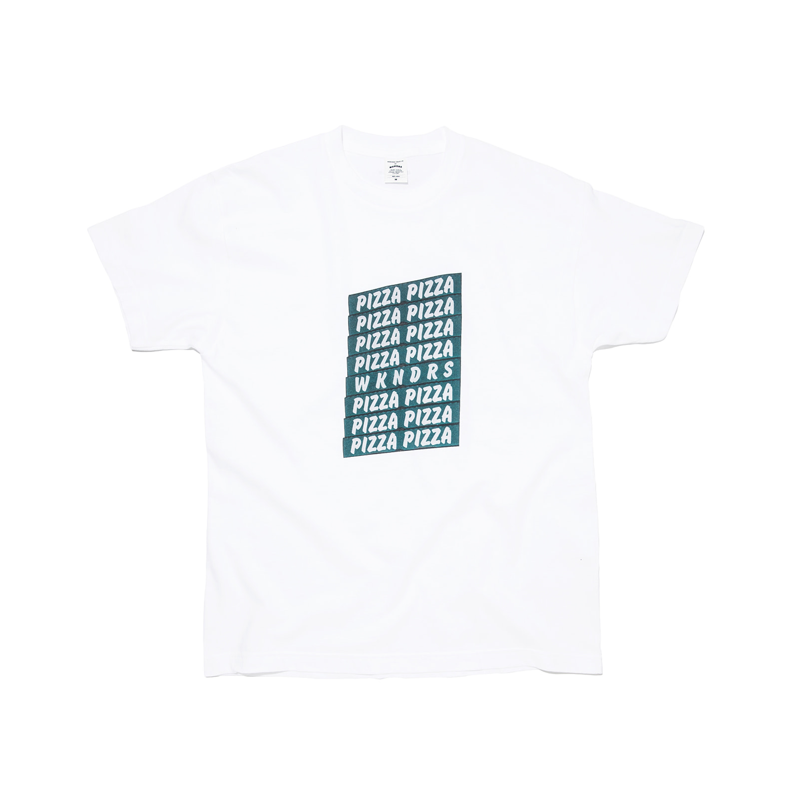 PIZZA TEE (WHITE)