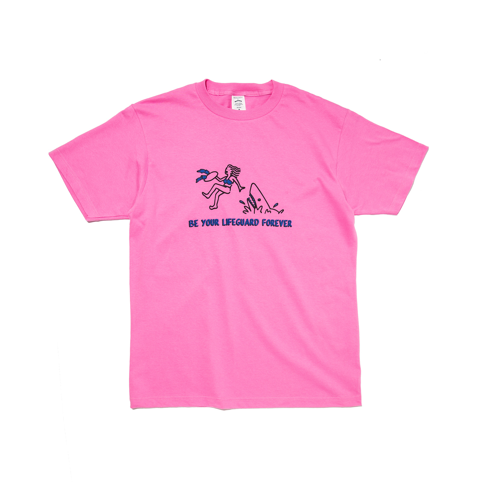 LIFEGUARD TEE (PINK)