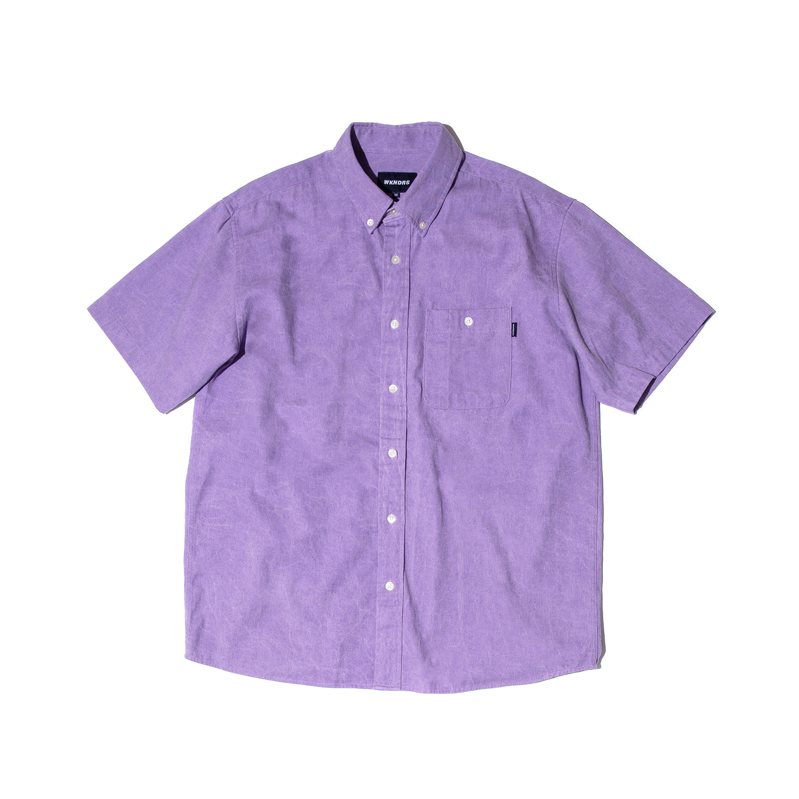 BASIC SHORTS SLEEVE SHIRTS (PURPLE)