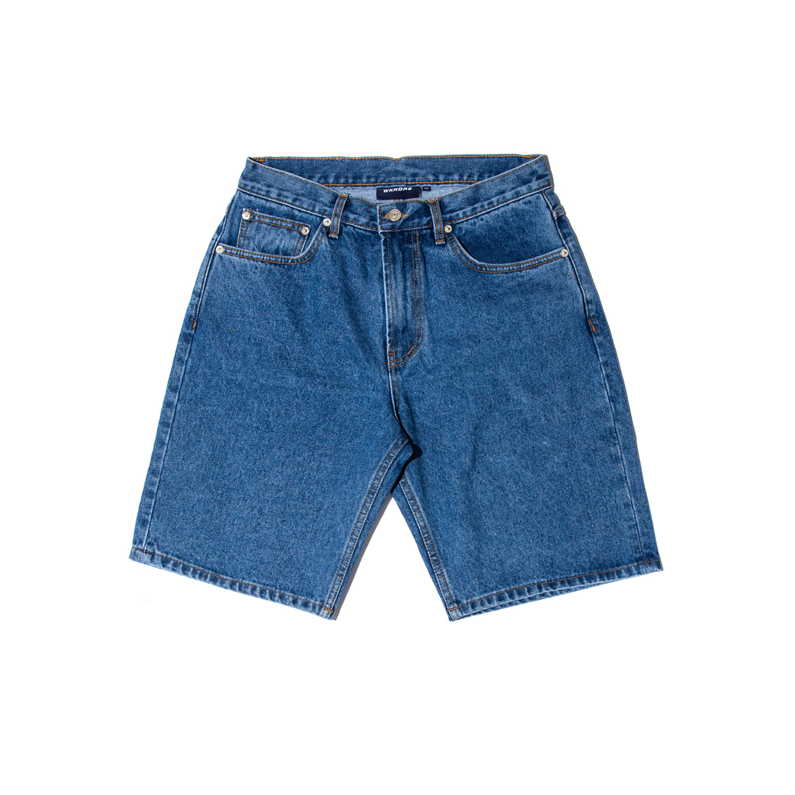 BASIC DENIM SHORTS (DENIM)