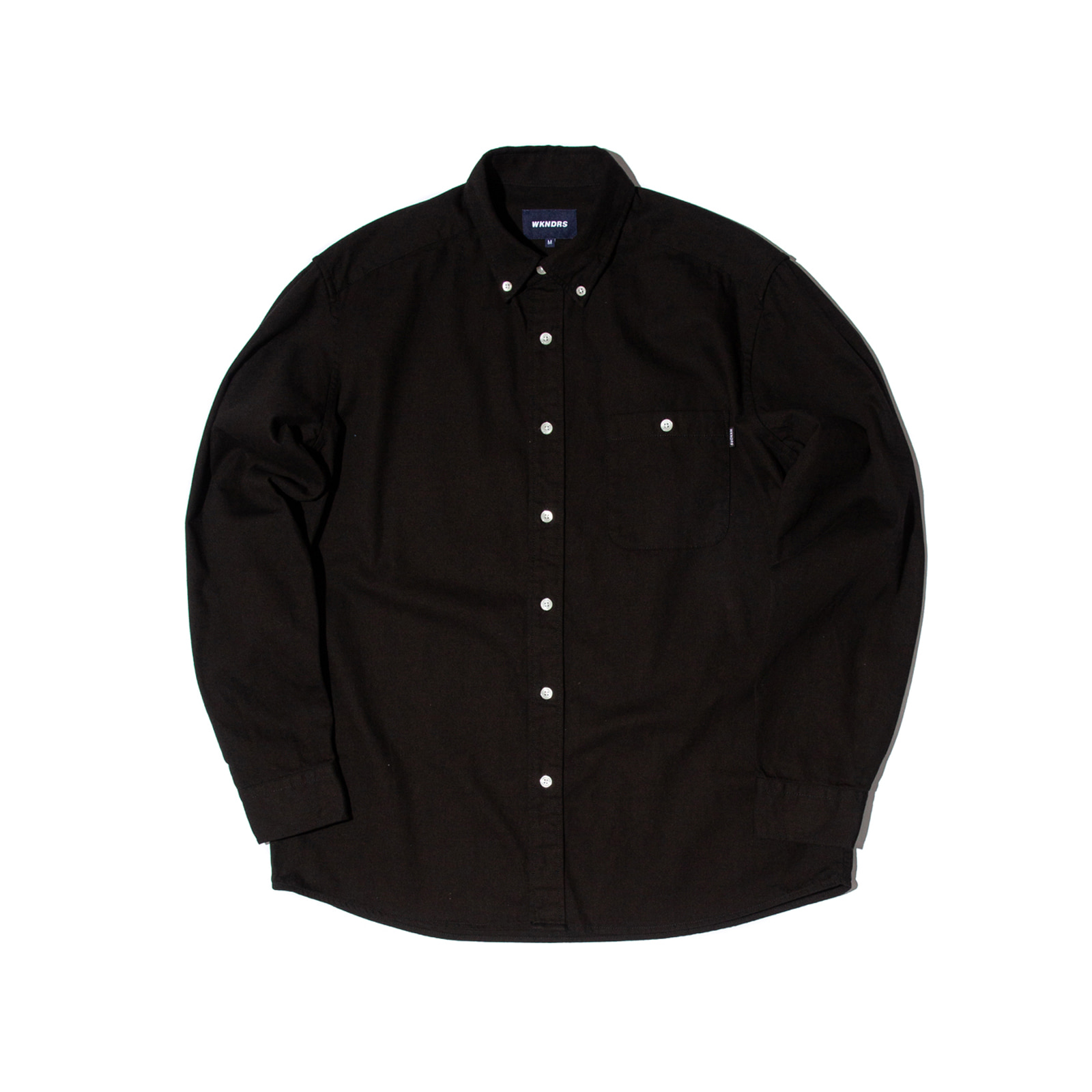 STRIPE DENIM SHIRTS (BLACK)