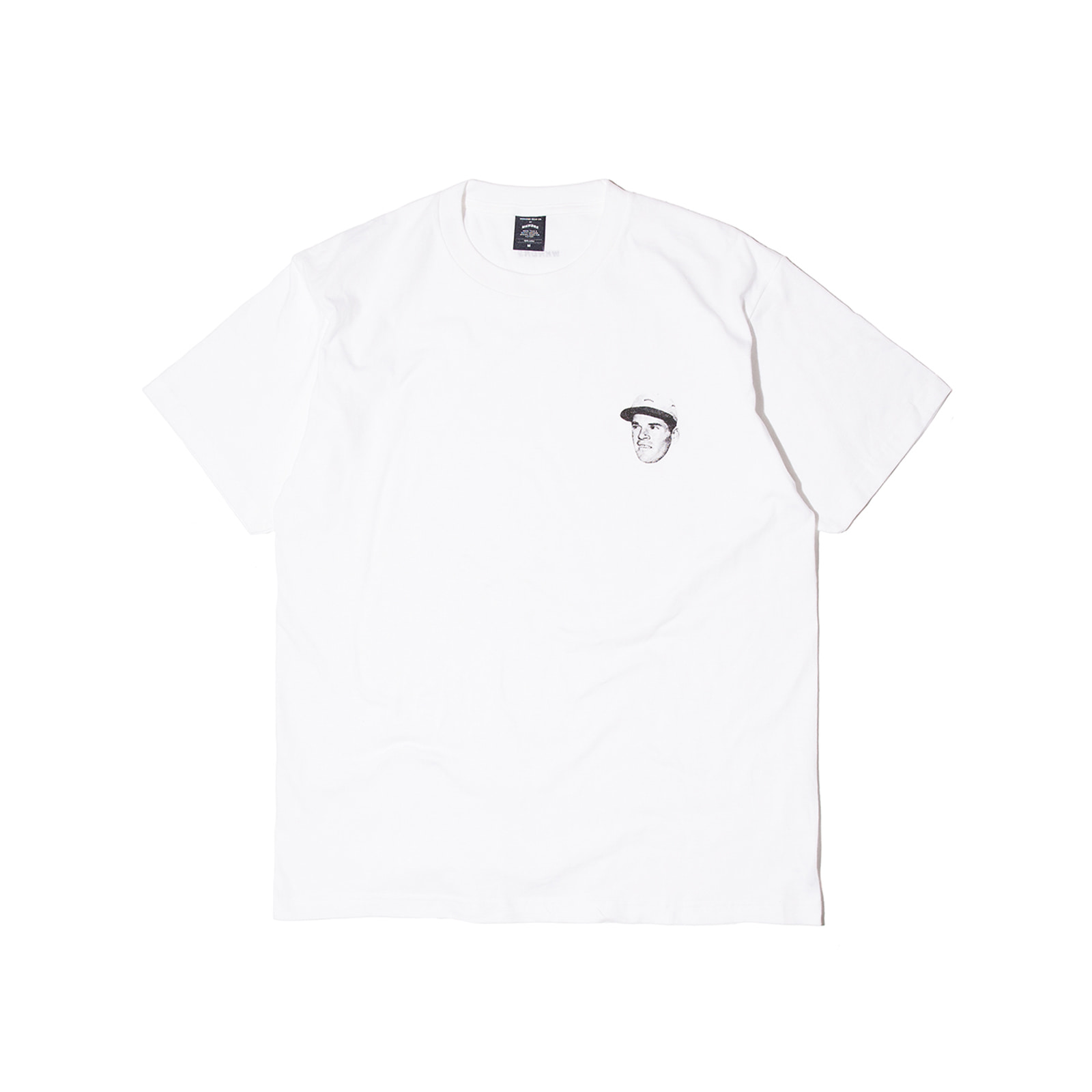 PLAYER TEE (WHITE)