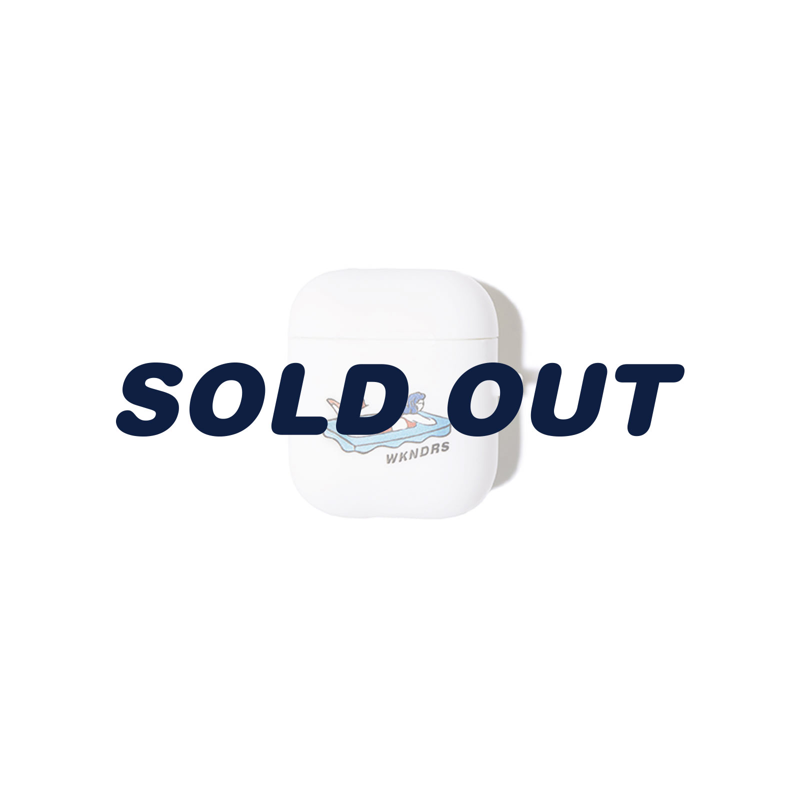 FG AIRPOD CASE (WHITE)