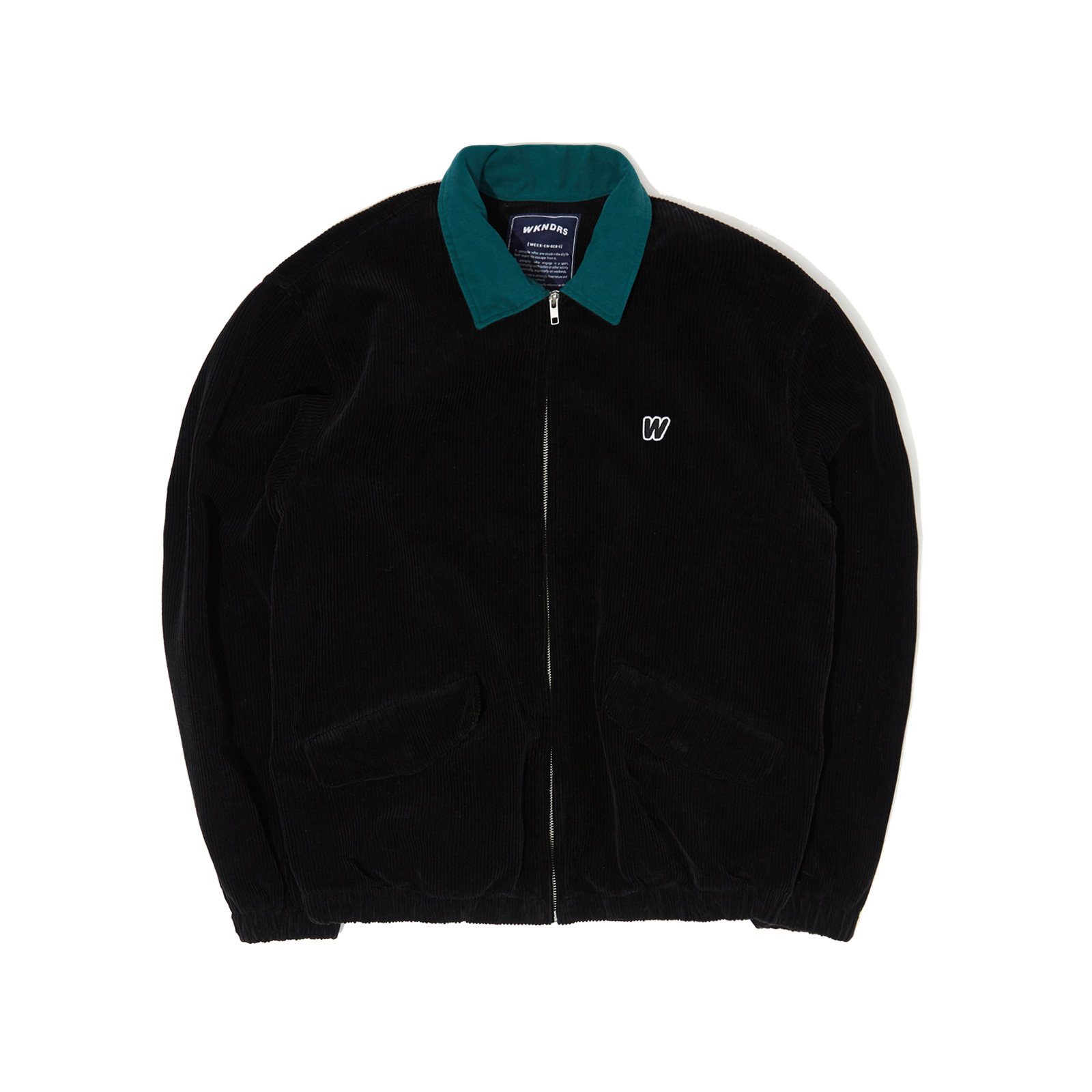 CORDUROY JACKET (BLACK)