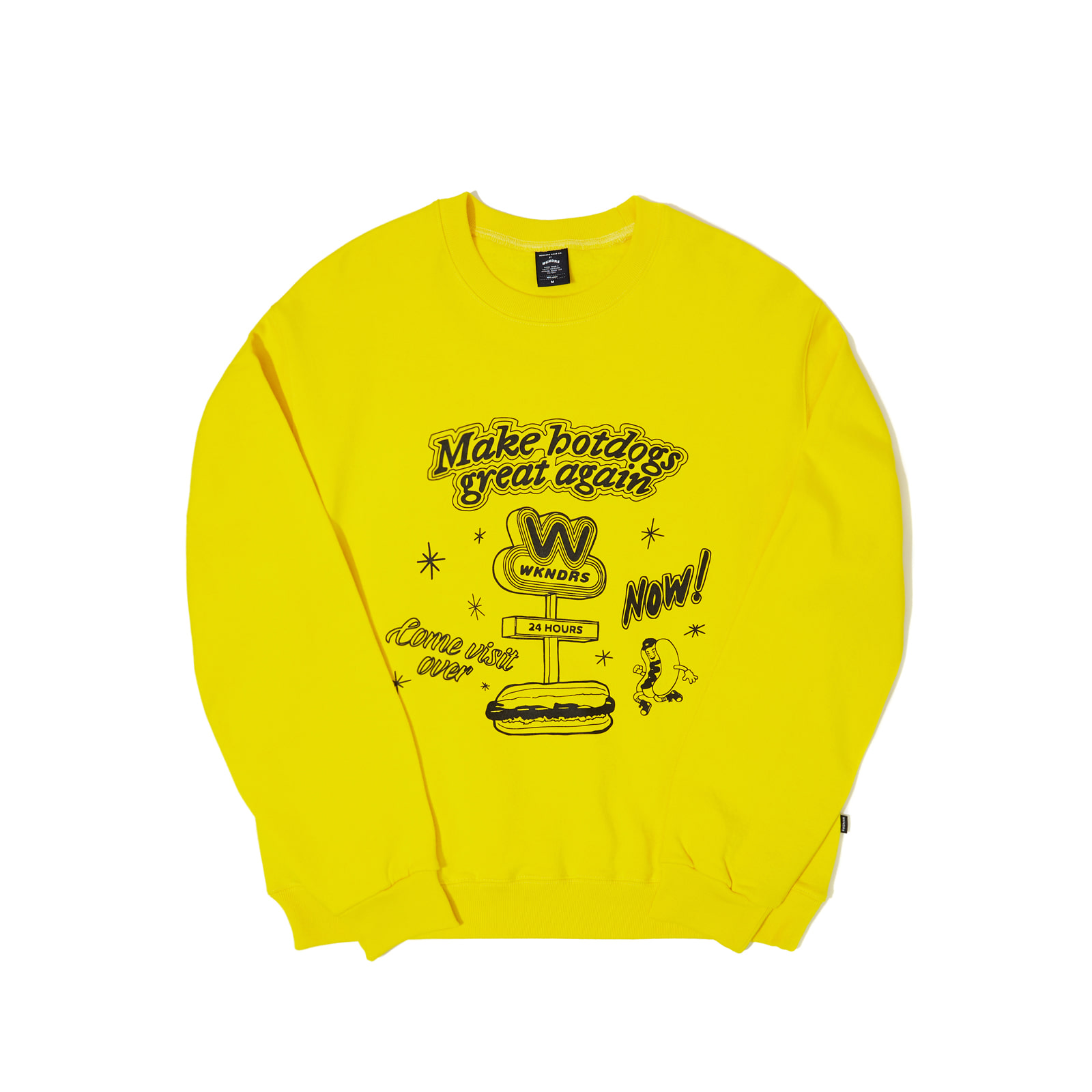 HOTDOG SWEATSHIRT (YELLOW)