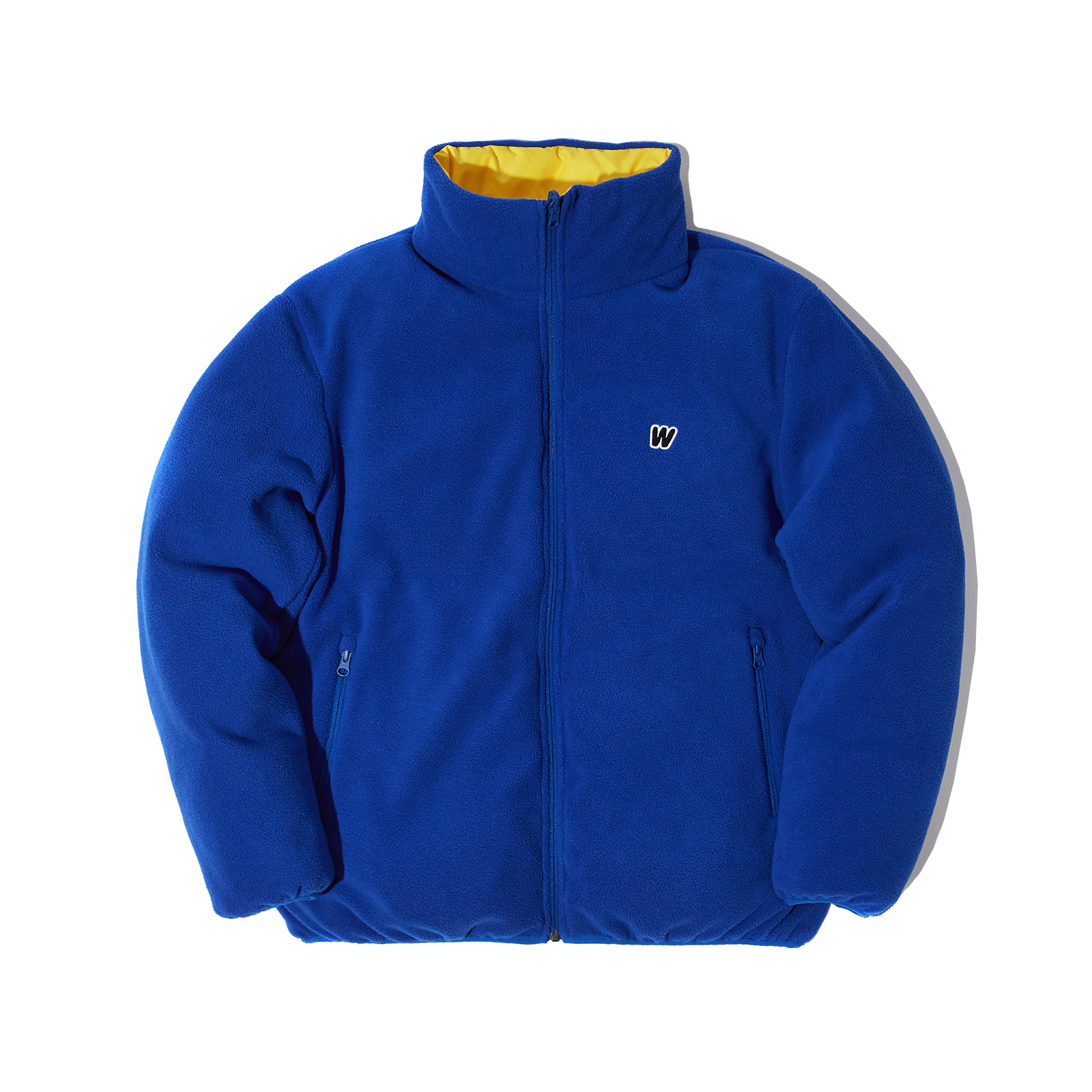 REVERSIBLE PADDED JACKET (BLUE)