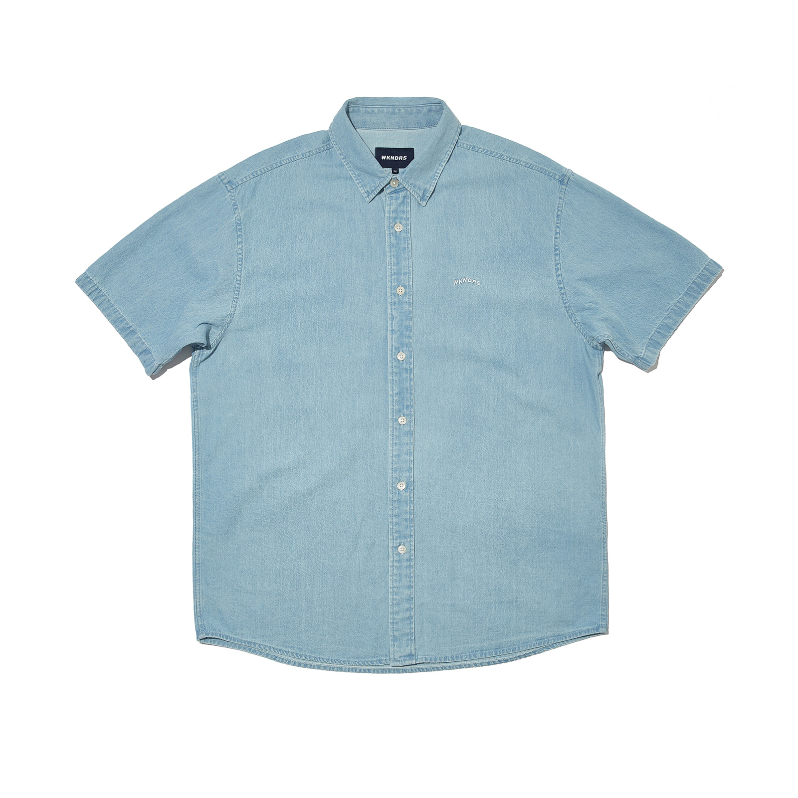 OVERSIZED SS SHIRTS (S.BLUE)