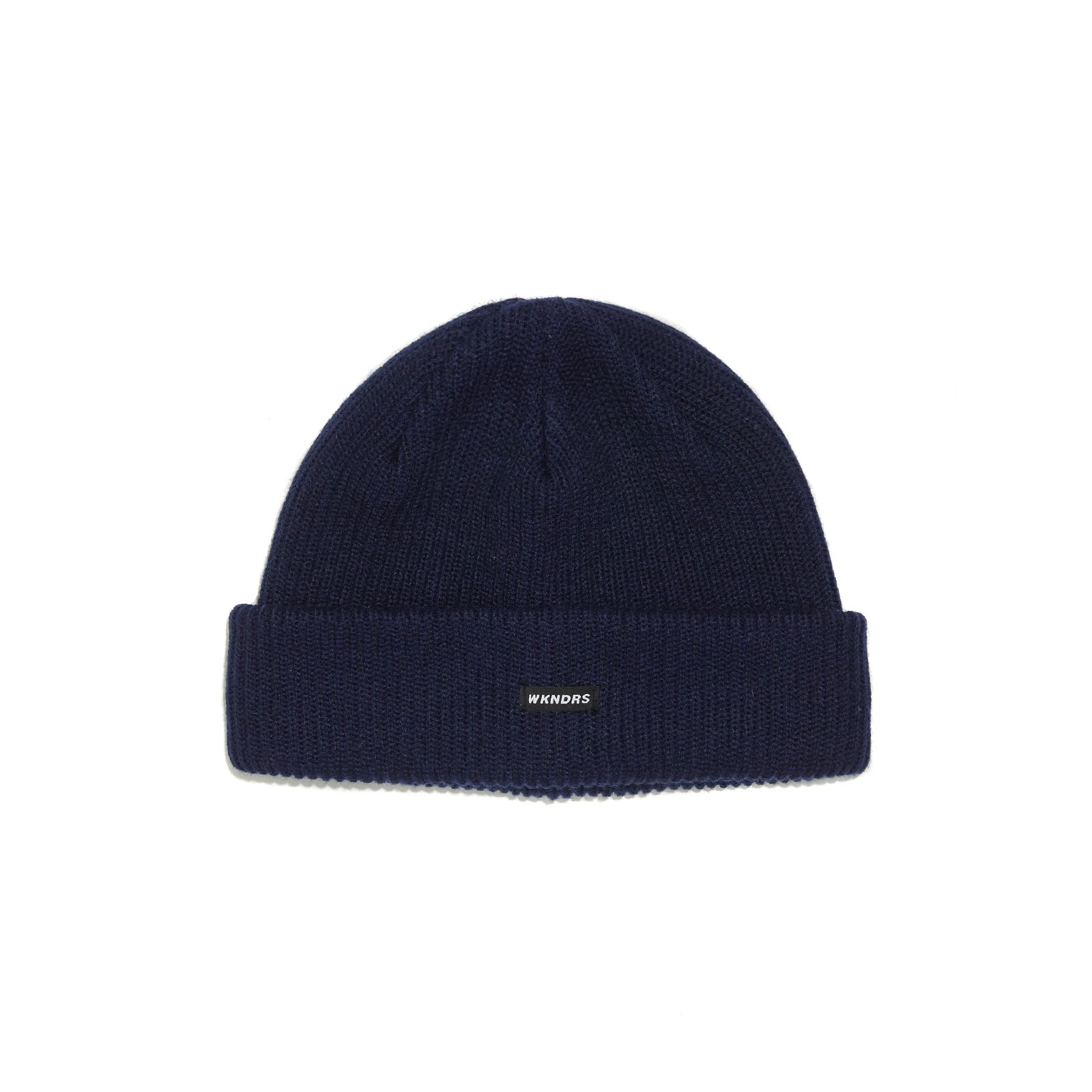 STRIPED BEANIE (NAVY)