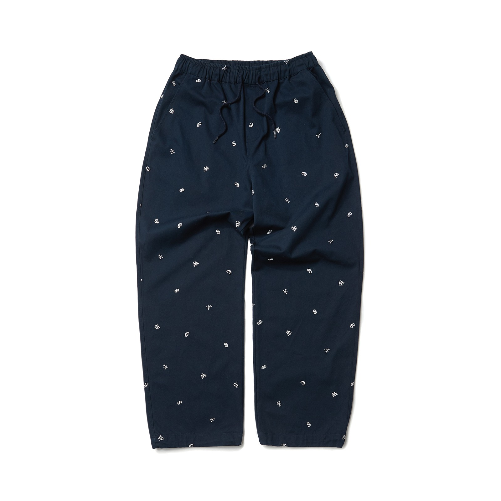 CURRENCY PANTS (NAVY)