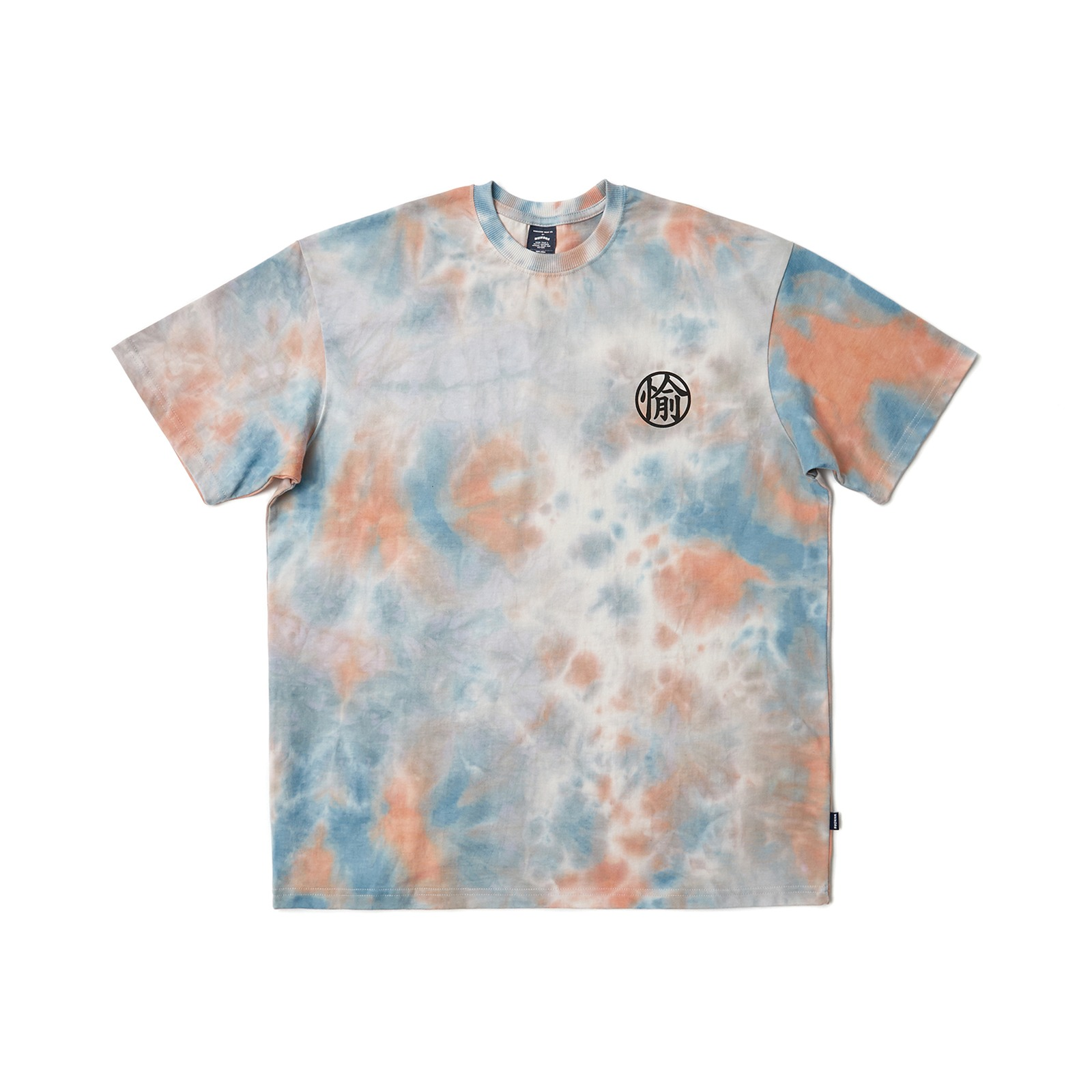 MARBLE SS T-SHIRT (ORANGE)