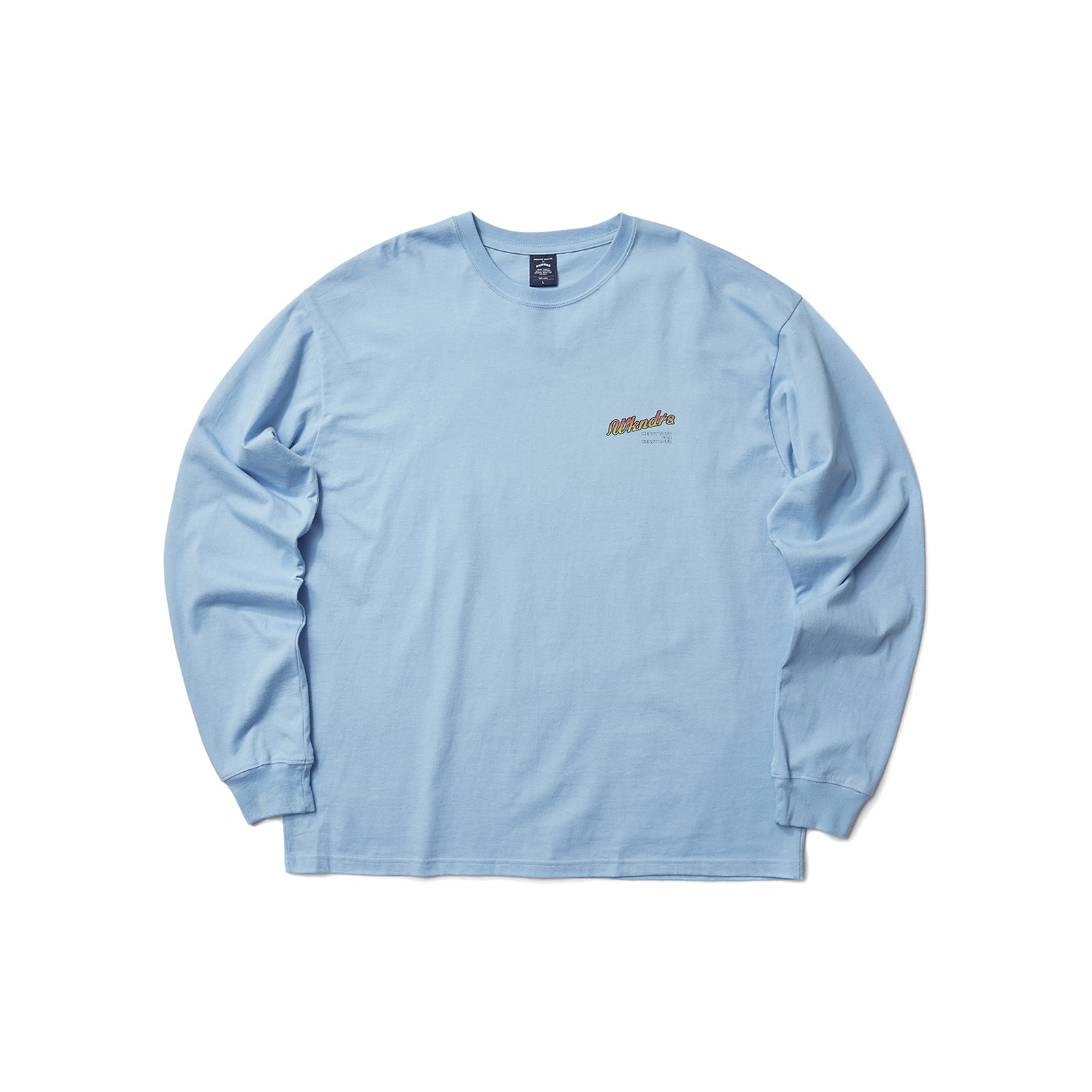 HEAVY TOYS LS T-SHIRT (S.BLUE)