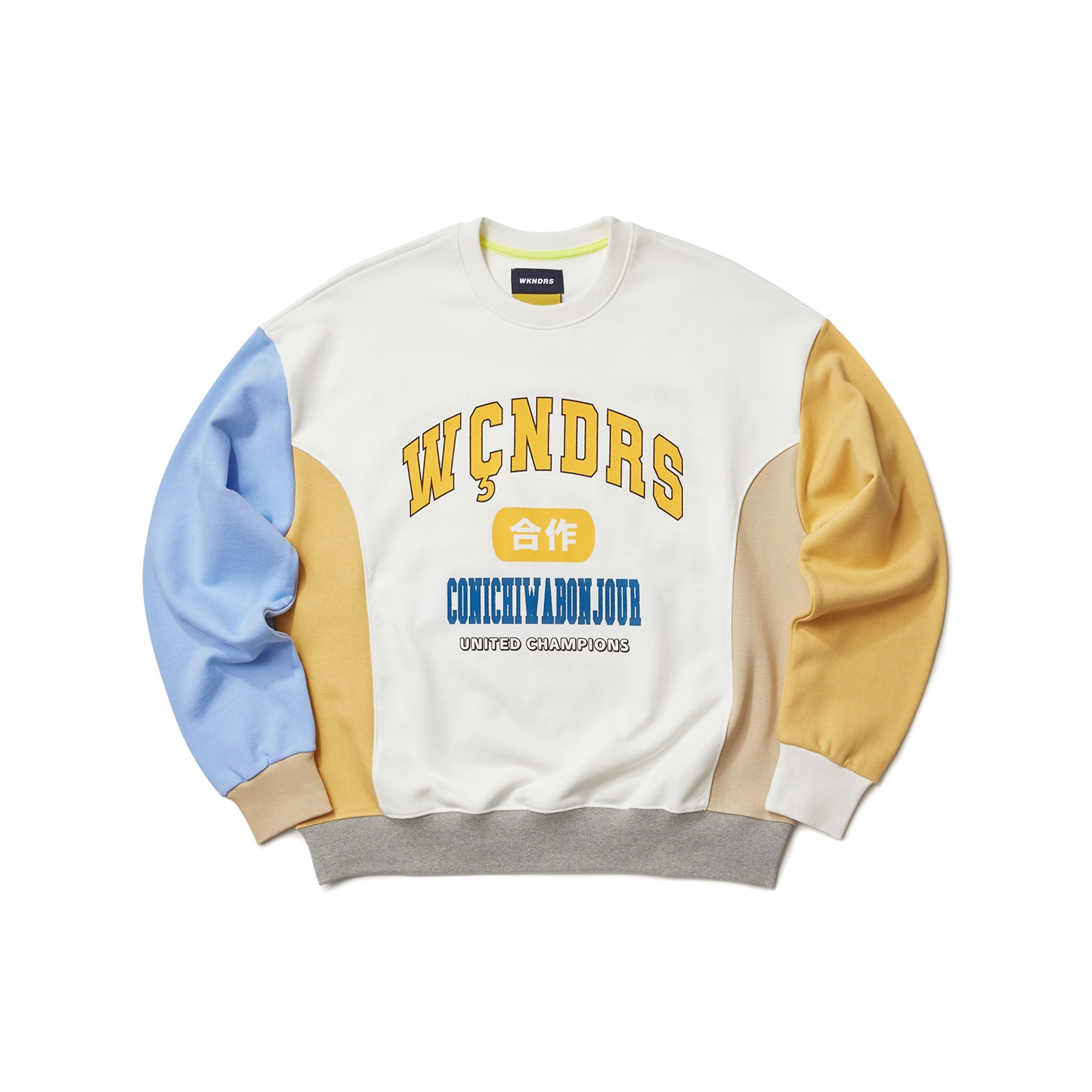 COLLEGE COLOR SWEATSHIRT (IVORY)