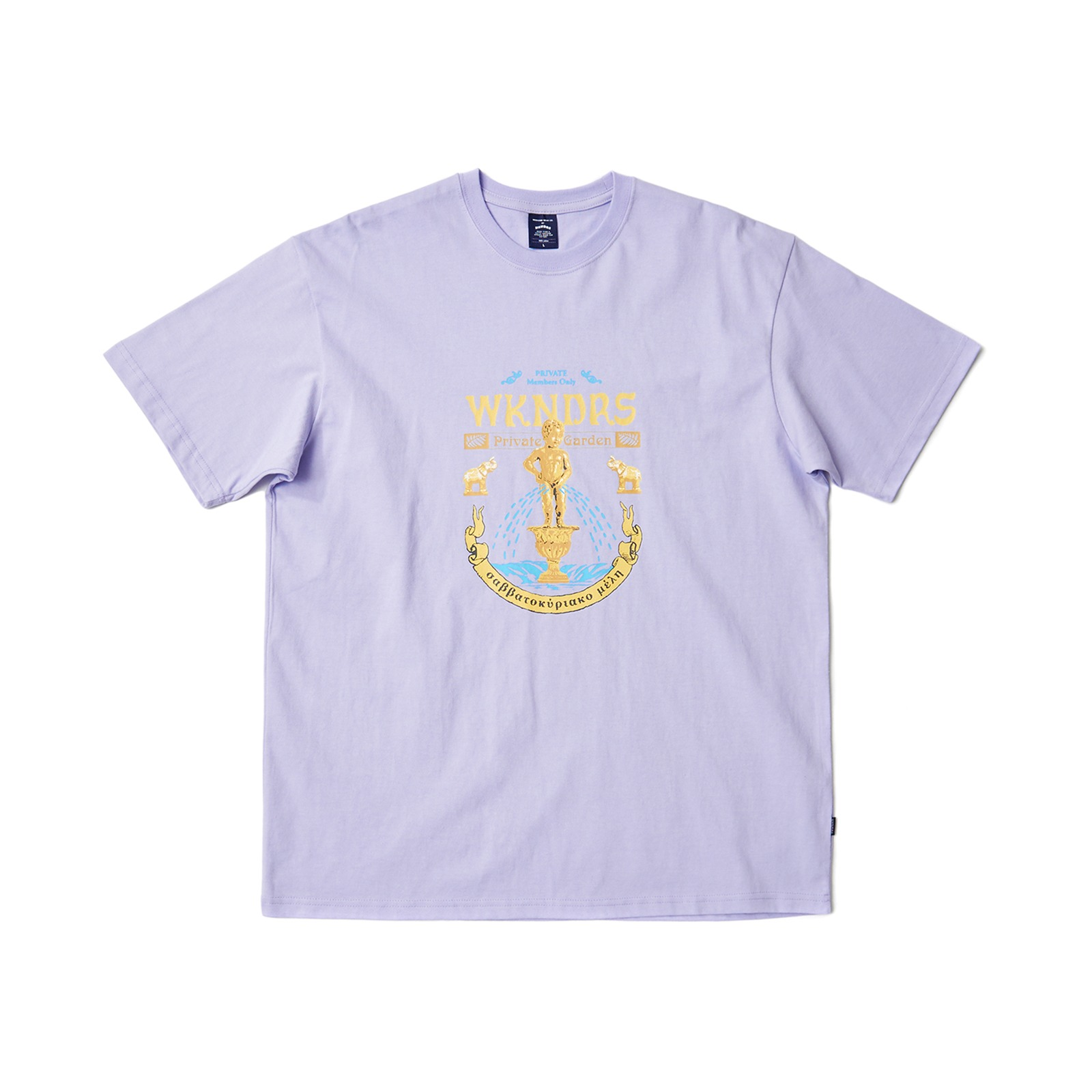 STATUE SS T-SHIRT (L.PURPLE)