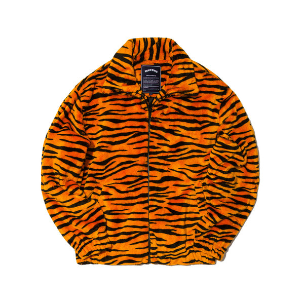 TIGER FUR PATTERN JK (ORANGE)