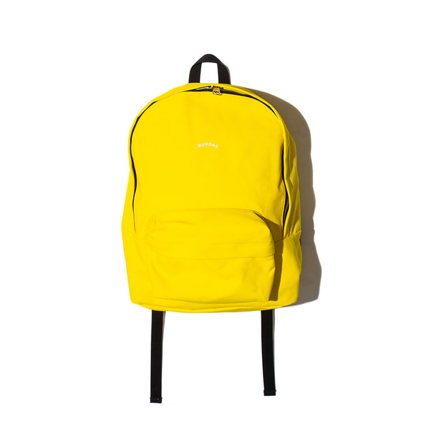 WAVY LOGO BACKPACK (YELLOW)