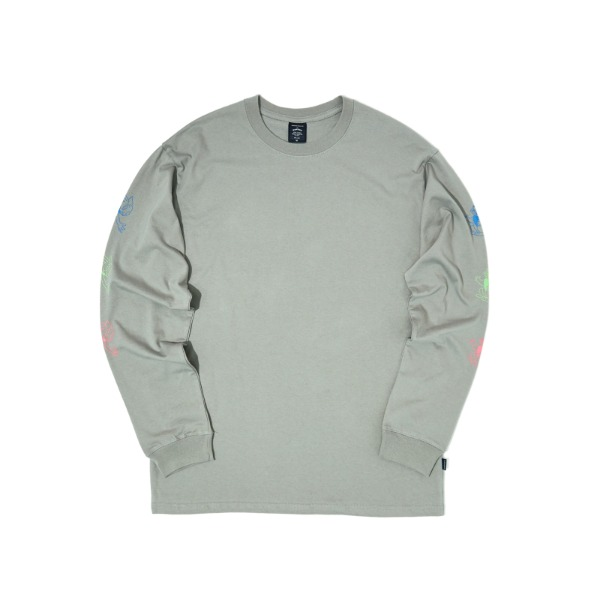 L/S RABBIT TEE (GREY)