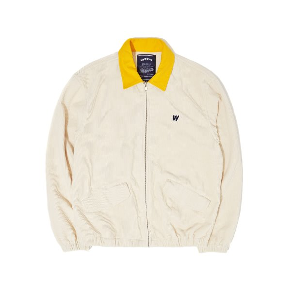 CORDUROY JACKET (WHITE)