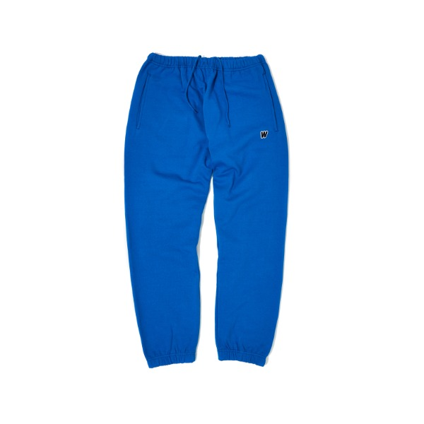 [9/6 예약배송] W LOGO SWEAT PANTS (BLUE)