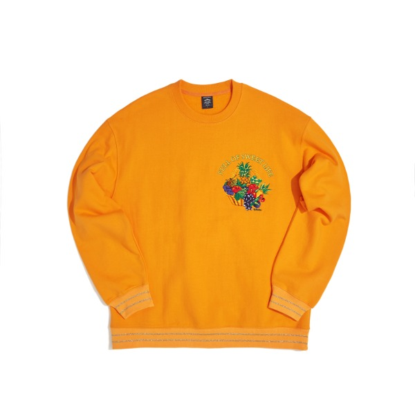 FOSL SWEATSHIRT (ORANGE)