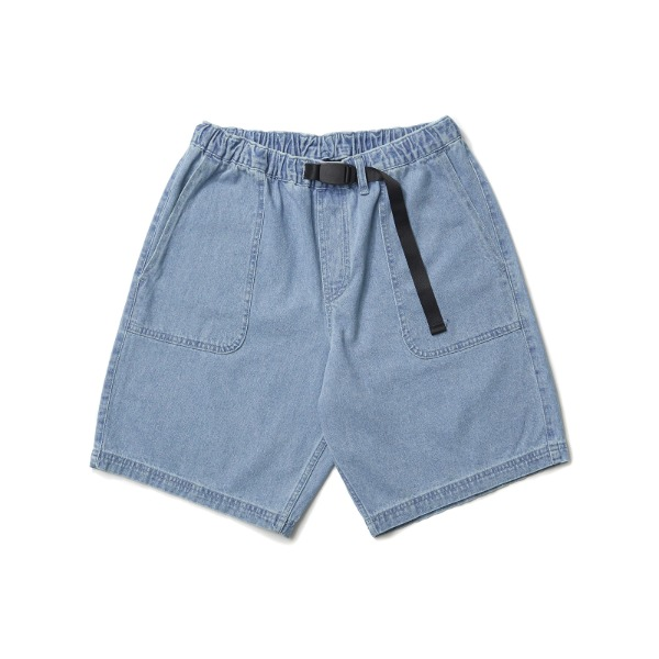 OUTPOCKET DENIM SHORTS (L.DENIM)