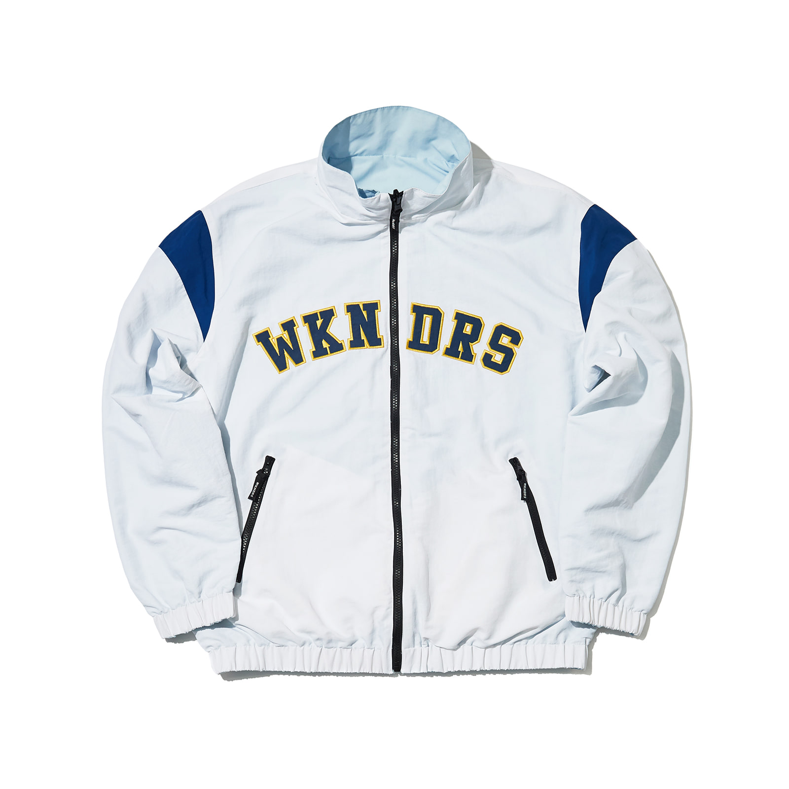 ATHLETIC ZIP UP JACKET (WHITE)