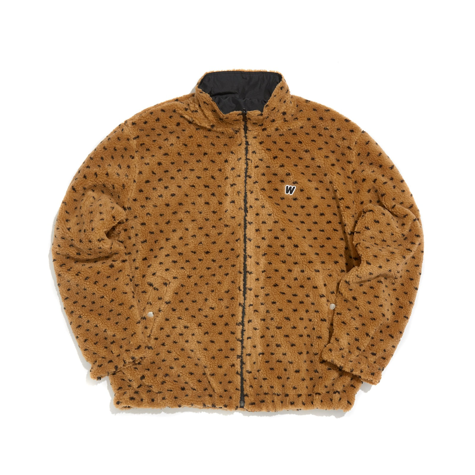 PIXEL REVERSIBLE DUMBLE JACKET (BROWN)