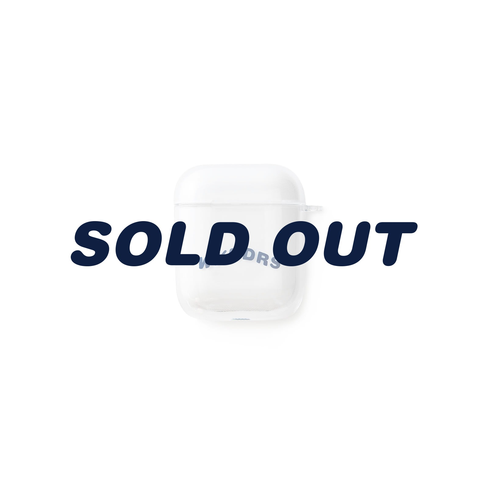 WAVY AIRPOD CASE (WHITE)
