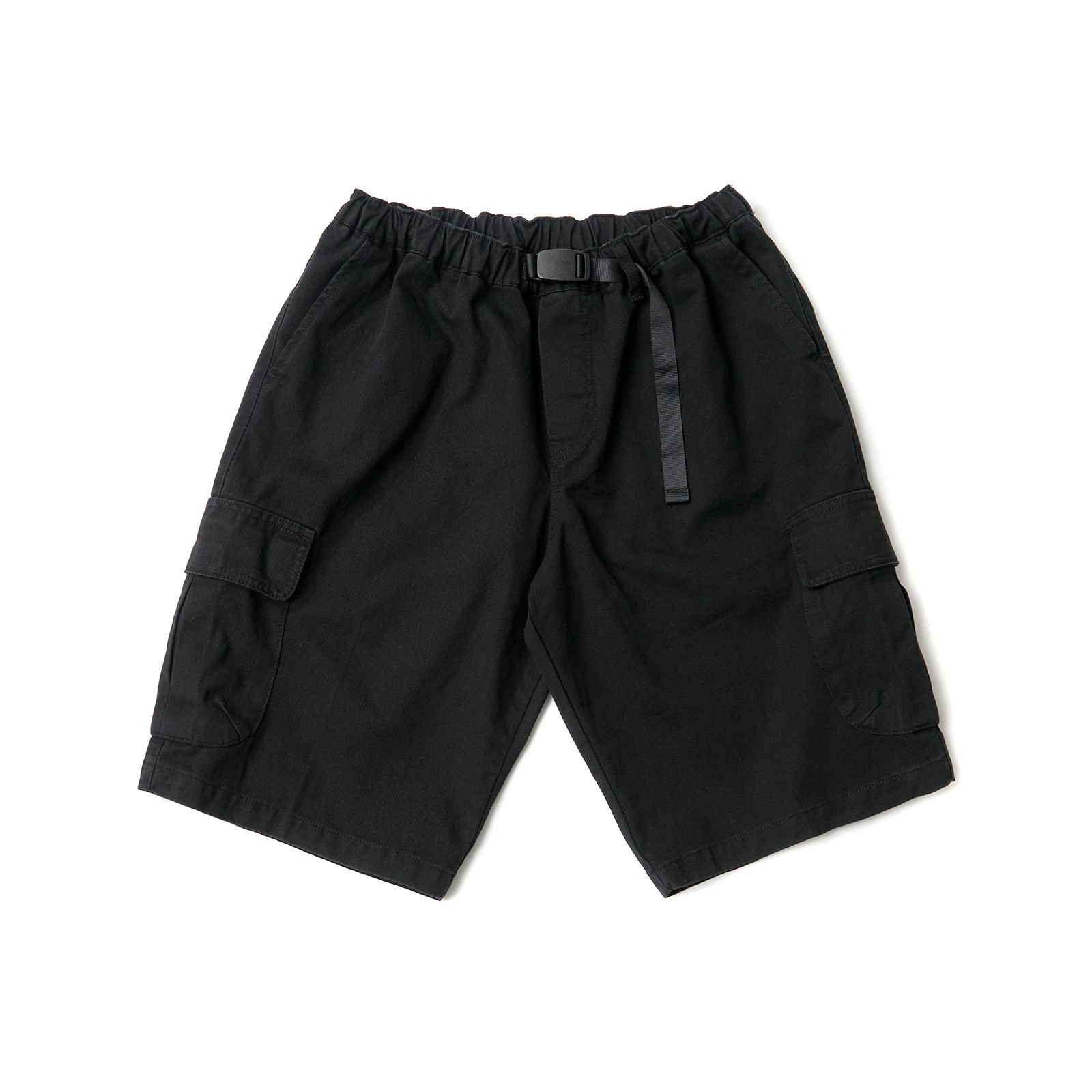 OVERSIZED CARGO SHORTS (BLACK)