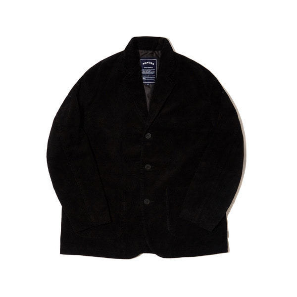 CORDUROY SINGLE JACKET (BLACK)