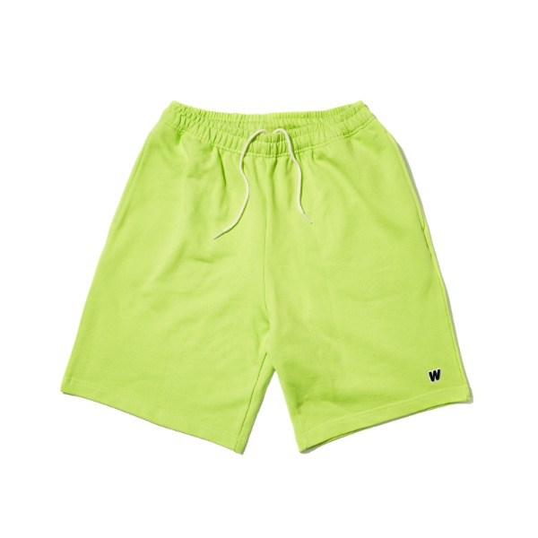 W SWEAT SHORTS (NEON)