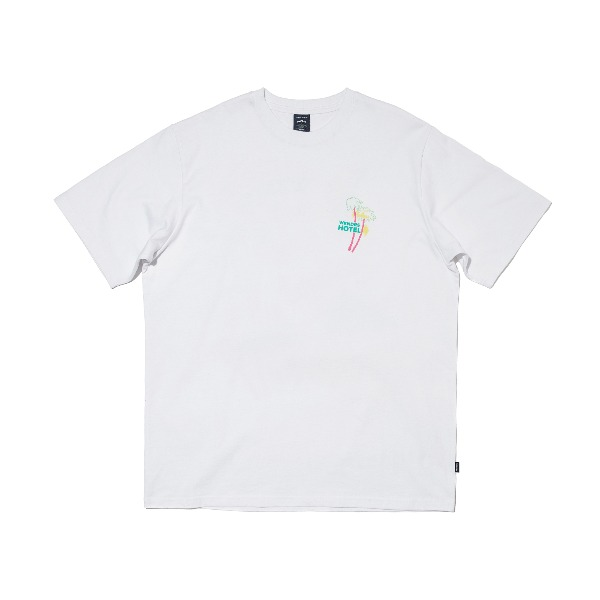 [M사이즈 6/1 예약발송] NEON SIGN SS T-SHIRT (WHITE)