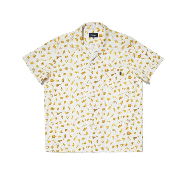 TREASURE SS SHIRT (WHITE)