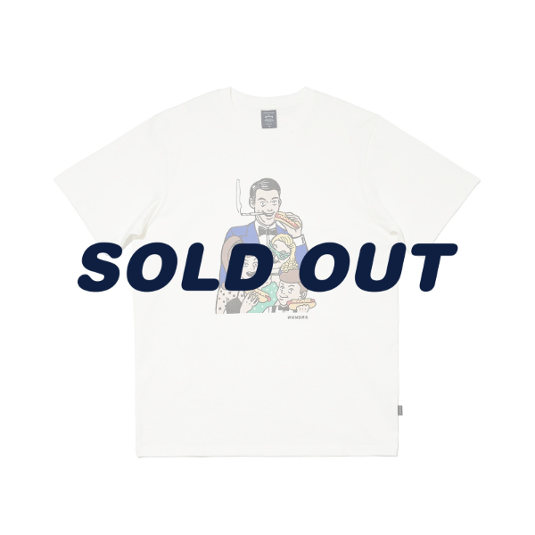 VEGAS FAMILY SS T-SHIRT (WHITE)