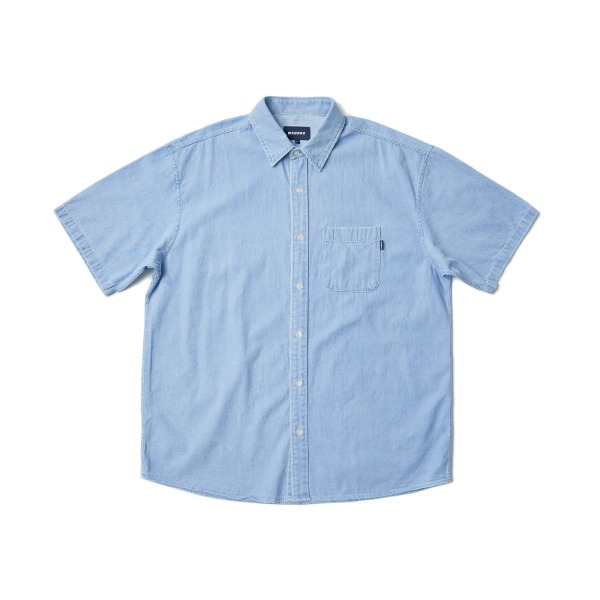 BASIC SS SHIRTS (L.DENIM)