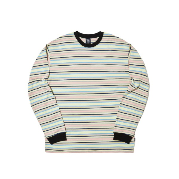 STRIPED LS T-SHIRT (GREEN)