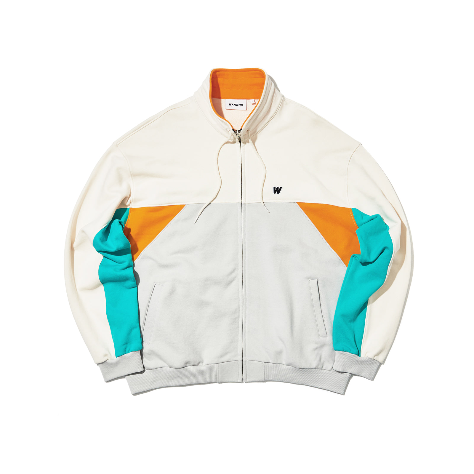 CUTTED TRACK JACKET (ORANGE)